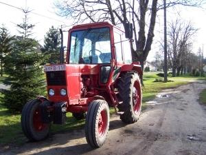 MTZ 80-as traktor Dénesfa szolgálatában